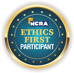 NCRA Ethics First Participant badge
